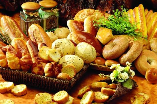 新鮮美味的面包圖片