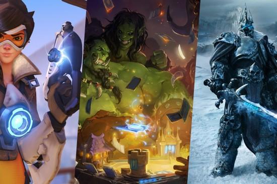 暴雪游戏人物角色图片