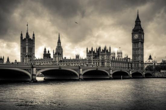 英国伦敦大本钟图片