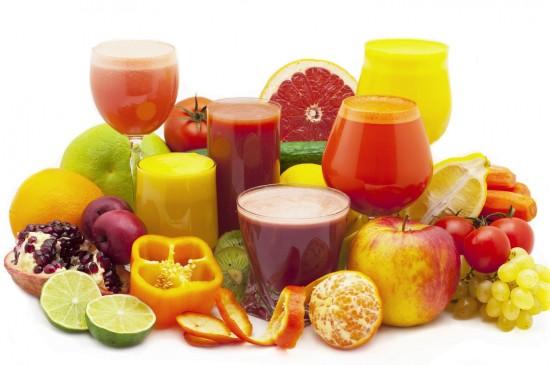 新鲜水果蔬菜果汁图片