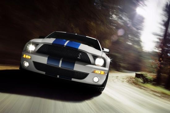 美國福特野馬跑車圖片