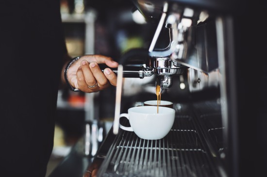 唯美咖啡机图片