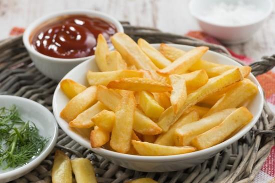 美味薯条图片