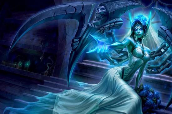 英雄联盟鬼魂新娘莫甘娜