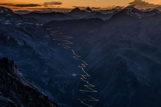 奥特拉峰的斯泰尔维奥山