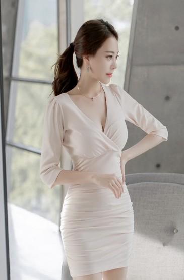韩国性感职业OL美女写真