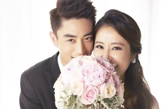 <霍建華林心如婚紗照圖片桌面壁紙