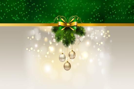 <圣诞节主题高清宽屏桌面壁纸