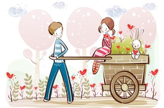 浪漫情人节高清桌面壁纸