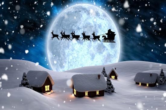 <圣誕節主題唯美漂亮的節日圖片桌面壁紙