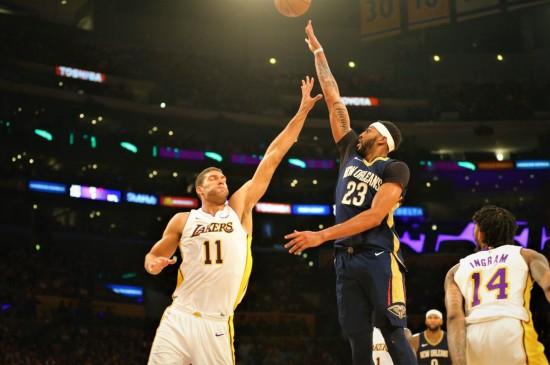NBA鹈鹕队安东尼·戴维斯图片壁纸