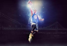 NBA勇士队斯蒂芬·库里高清图片壁纸