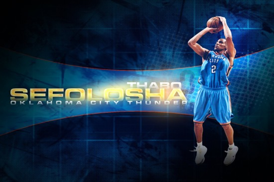NBA俄克拉荷马城雷霆队图片壁纸