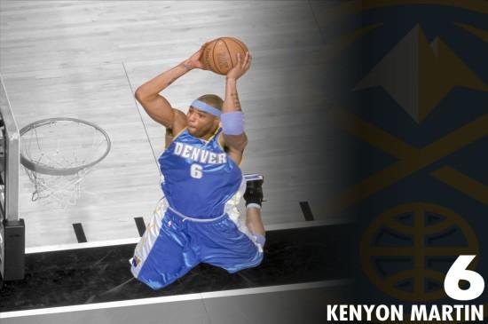 NBA丹佛掘金队高清图片