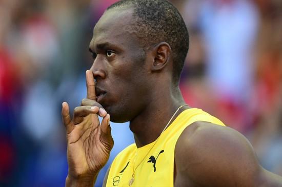 2016里约奥运博尔特百米田径比赛图片桌面壁纸