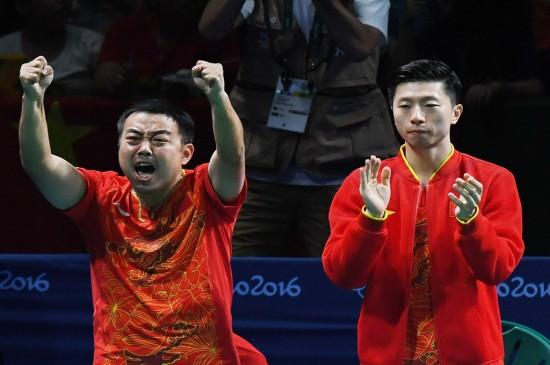 2016里约奥运男乒团体比