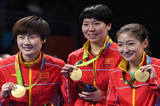 2016里约奥运女乒团体冠