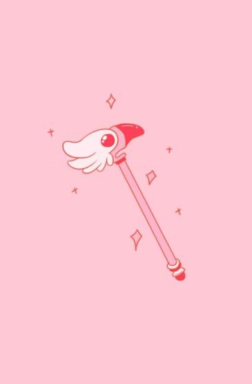 精选高清粉色系可爱卡通手机壁纸图片