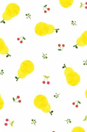 可爱小清新卡通水果锁屏壁纸下载