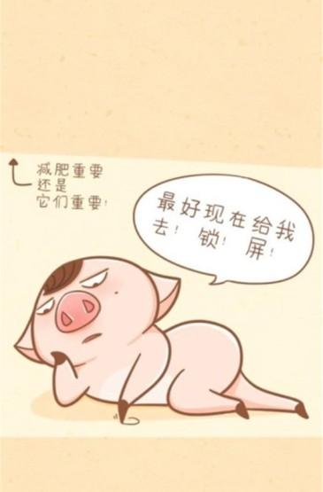 <萌贱小猪可爱高清手机桌面壁纸下载