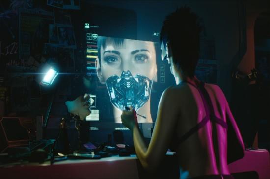 《赛博朋克2077》4k游戏原画图片壁纸