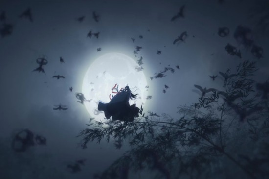 魔道祖师动画图片桌面壁纸