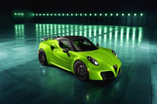 绿色拉风跑车高清图片桌面壁纸