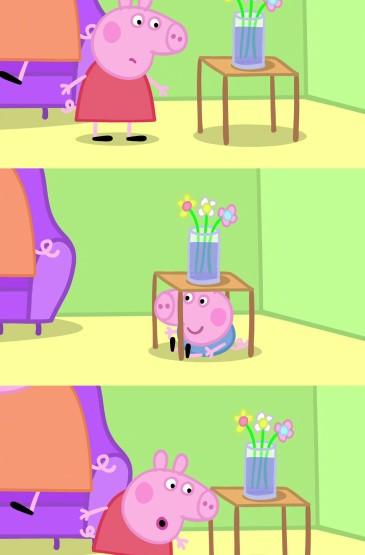 小猪佩奇可爱卡通手机壁