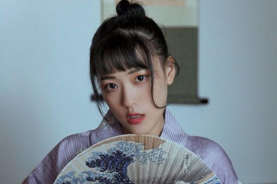 <日系和服美女写真图片桌面壁纸