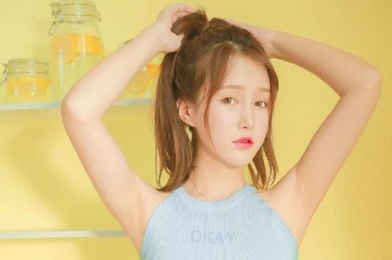 <甜美柠檬少女高清桌面壁纸