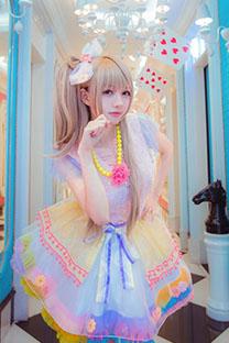 日本少女唯美cos《LOVE LIVE》写真高清壁纸图片