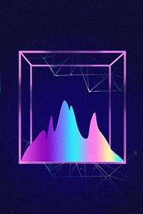 创意炫酷几何高清图片手机壁纸