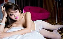 混血美女性感蕾丝内衣美腿巨乳大尺度高清写真桌面壁纸