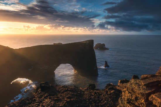 唯美冰岛风景高清桌面壁纸