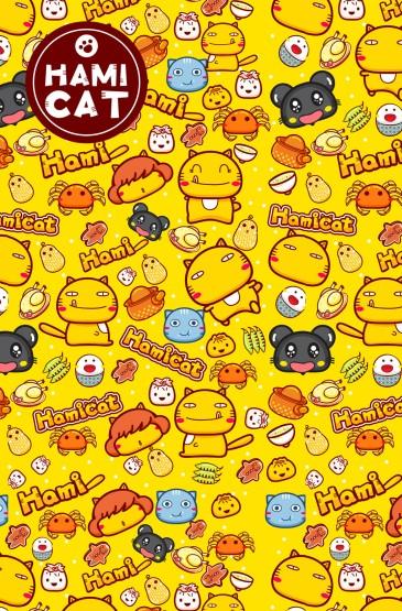 <可爱软萌哈咪猫图片手机壁纸
