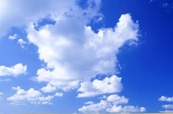 蓝天白云唯美风光图片高清壁纸
