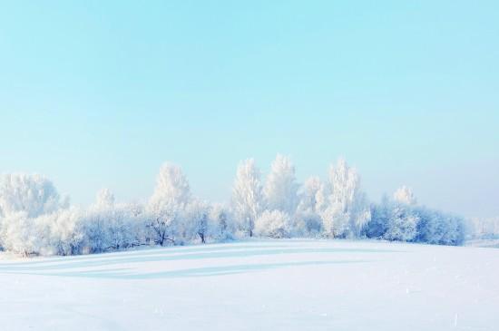 冬季雪景唯美高清图片桌面壁纸
