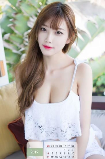 2019年8月性感美女写真