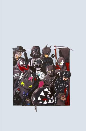 卡通创意背景唯美高清手机壁纸
