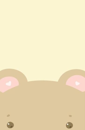 可爱呆萌卡通动物图片手机壁纸