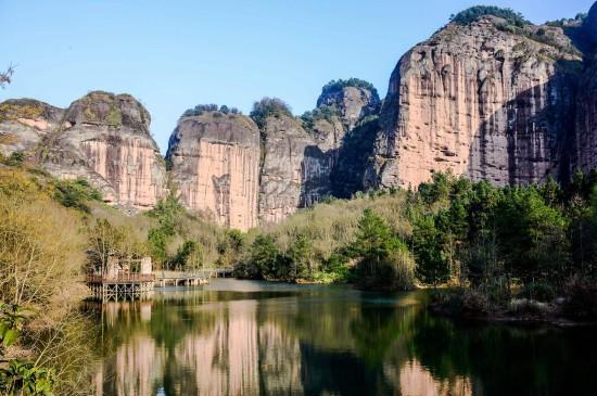 <江西龙虎山风景图片桌面壁纸