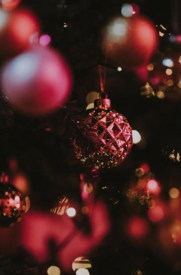 <圣诞节唯美饰品图片手机壁纸