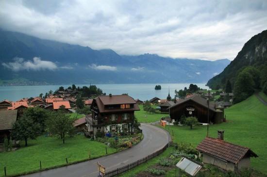 <唯美护眼瑞士风景图片桌面壁纸
