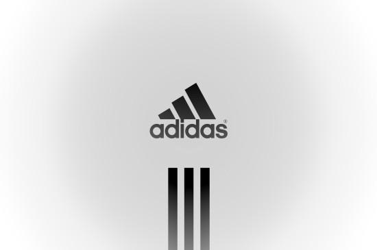 高清阿迪达斯Adidas创意logo桌面壁纸