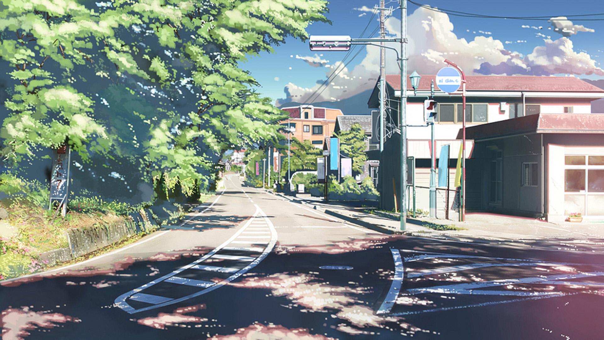 精选二次元动漫美景高清图片桌面壁纸