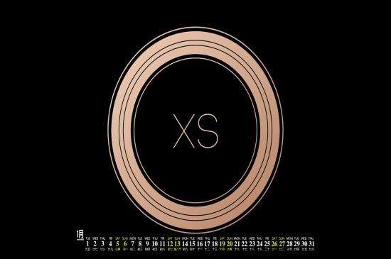 2019年1月苹果电脑桌面
