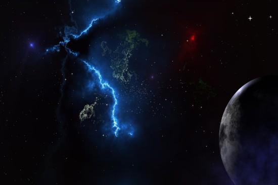 浩瀚唯美星空图片手机壁