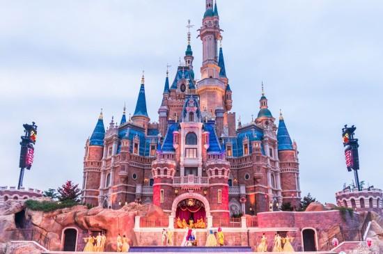 <上海迪士尼城堡图片桌面壁纸