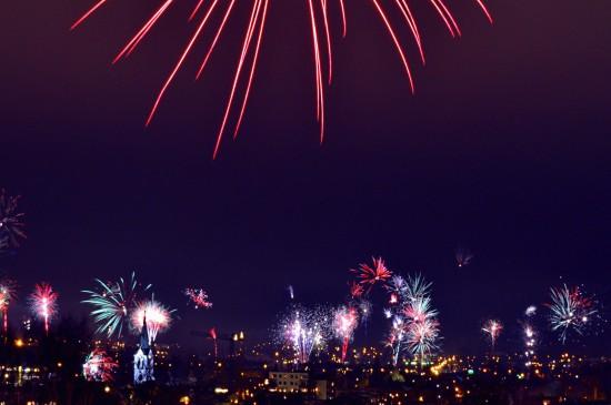 繁华都市夜景图片高清壁