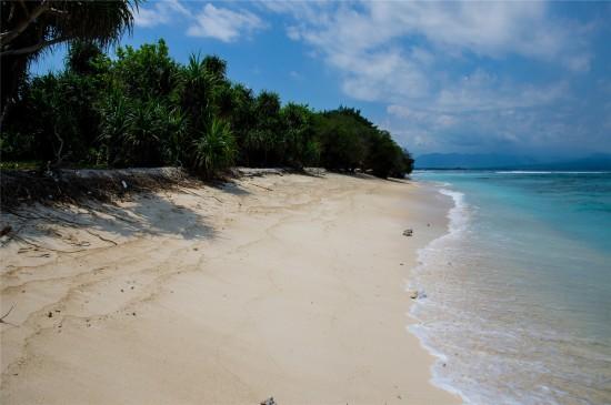 唯美海边沙滩高清桌面壁纸
